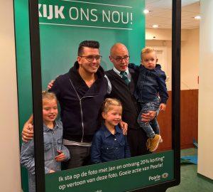 Winkelactivatie bij Pearle met Jan Smit ontwikkeld door Reclamebureau Utrecht Everybody Likes Penguins