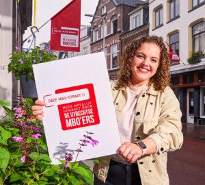 Social media campagne voor Utrechtse mbo'er. Ontwikkelt door het leukste Reclamebureau uit Utrecht
