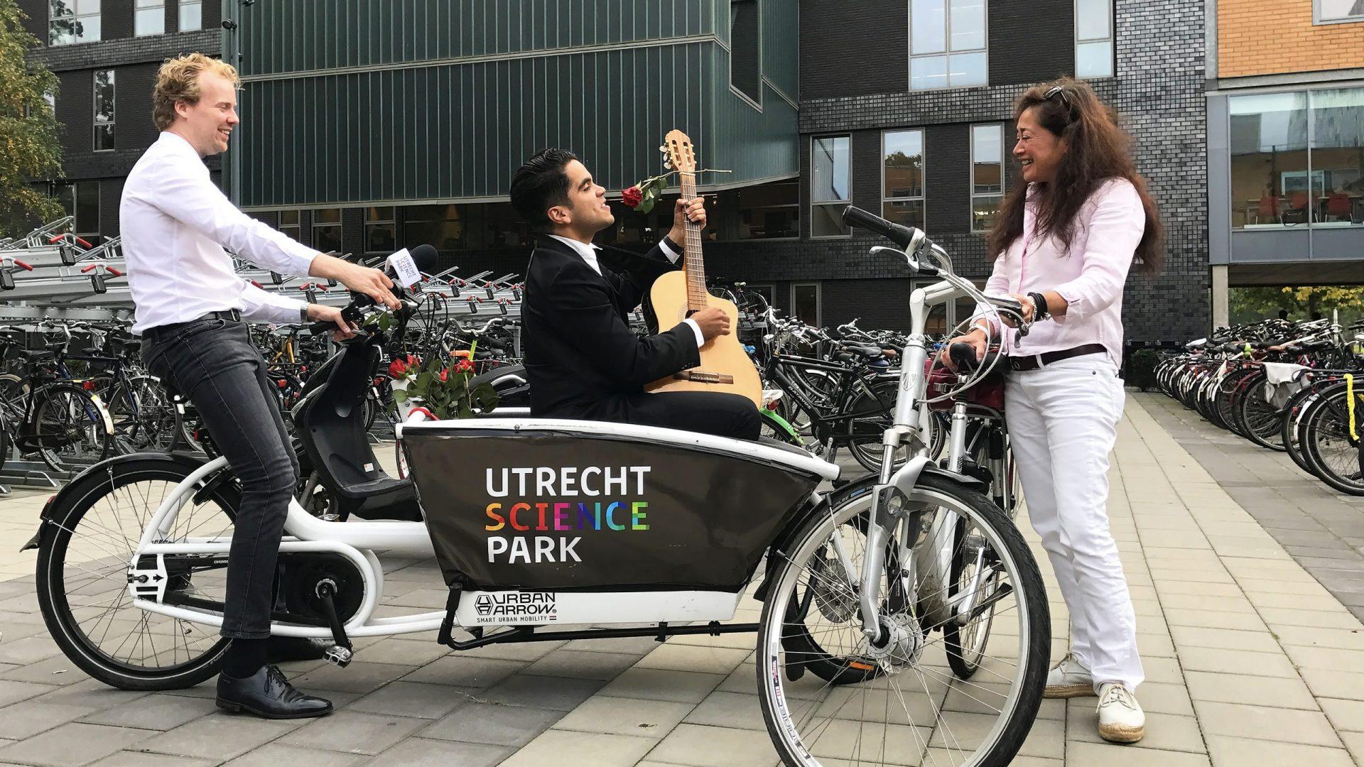 Mobiliteitscampagne / Gebiedsmarketing voor Utrecht Science Park