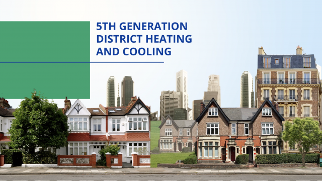 de 5e generatie stadsverwarming