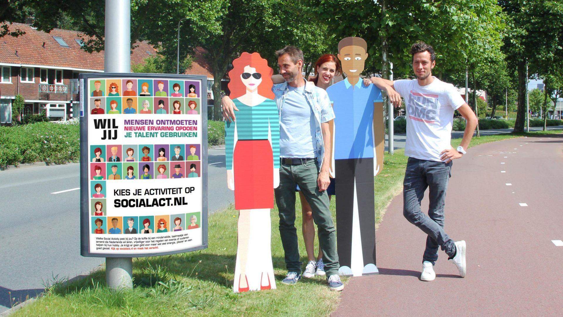 Straatcampagne met een gezicht voor VC Utrecht