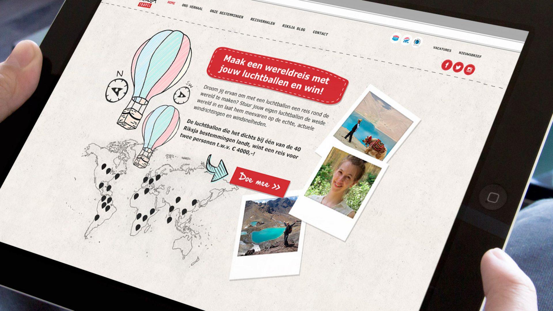 Online marketing campagne